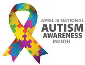 Autism awareness month logo